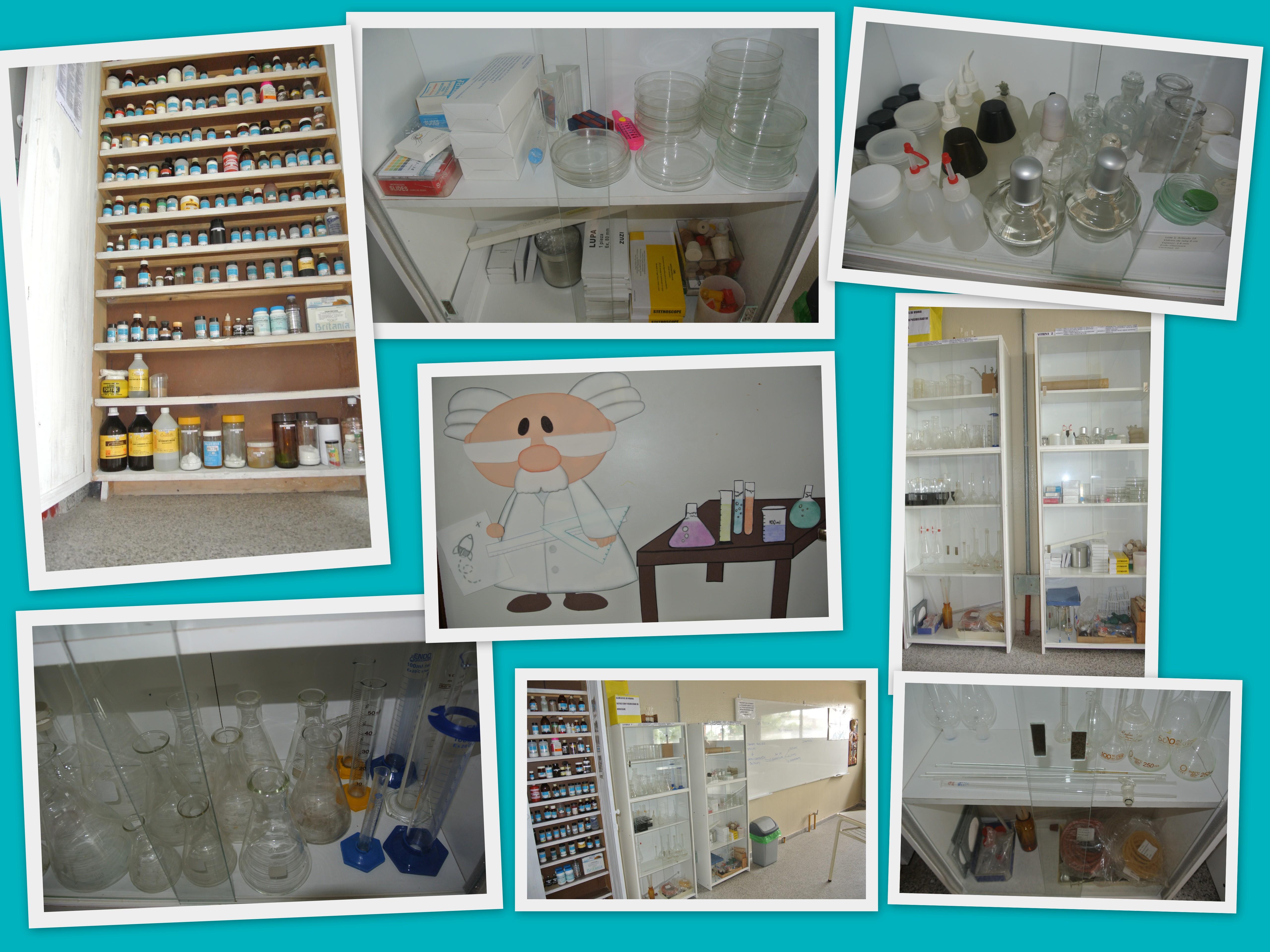 Elementos de Laboratorio Naturales